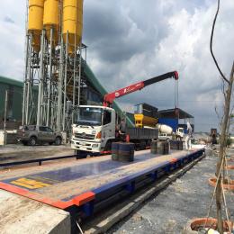 Cân xe tải điện tử 30 tấn TRANSCELL - USA