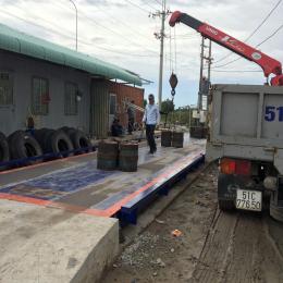 Cân xe tải điện tử 40 tấn UTILCELL - SPAIN