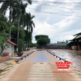Trạm cân xe tải 80 Tấn 3x18m lắp tại Tây Ninh