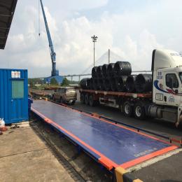 Trạm cân ô tô 60 tấn UTILCELL - SPAIN