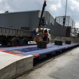 Trạm cân ô tô điện tử 50 tấn CAO CẤP MKCELLS - USA