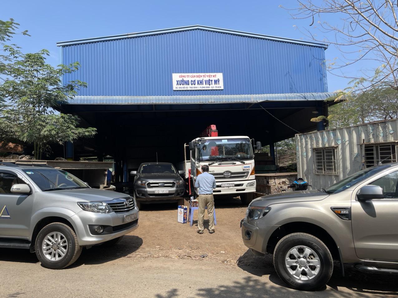 Sửa chữa cân xe tải - 4