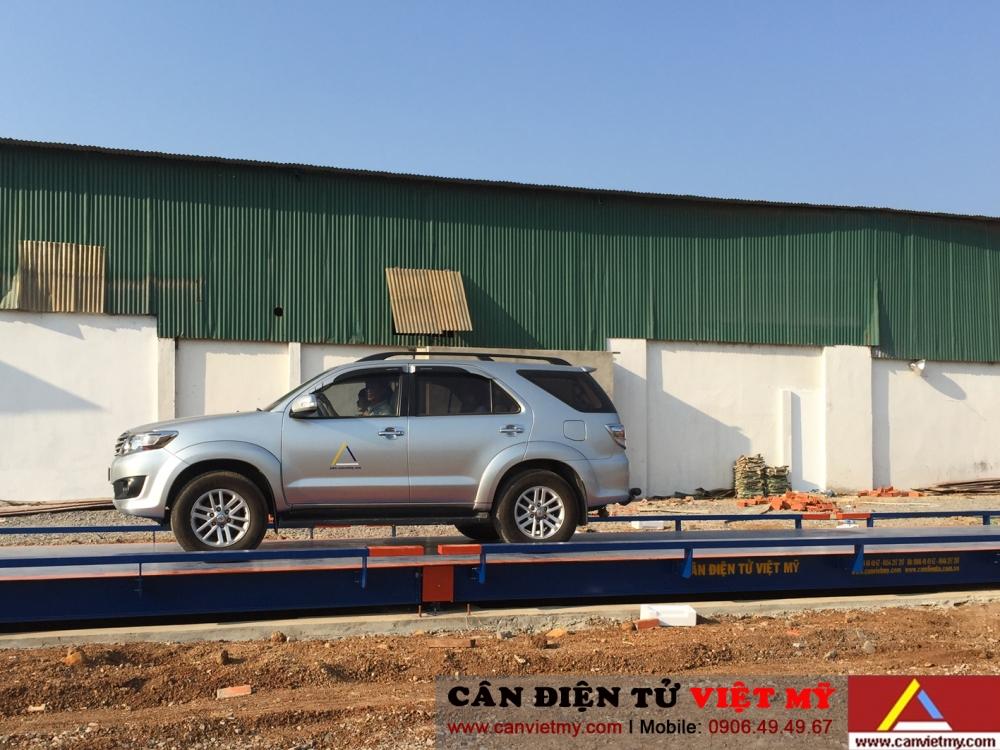 Cân ô tô điện tử 60 tấn