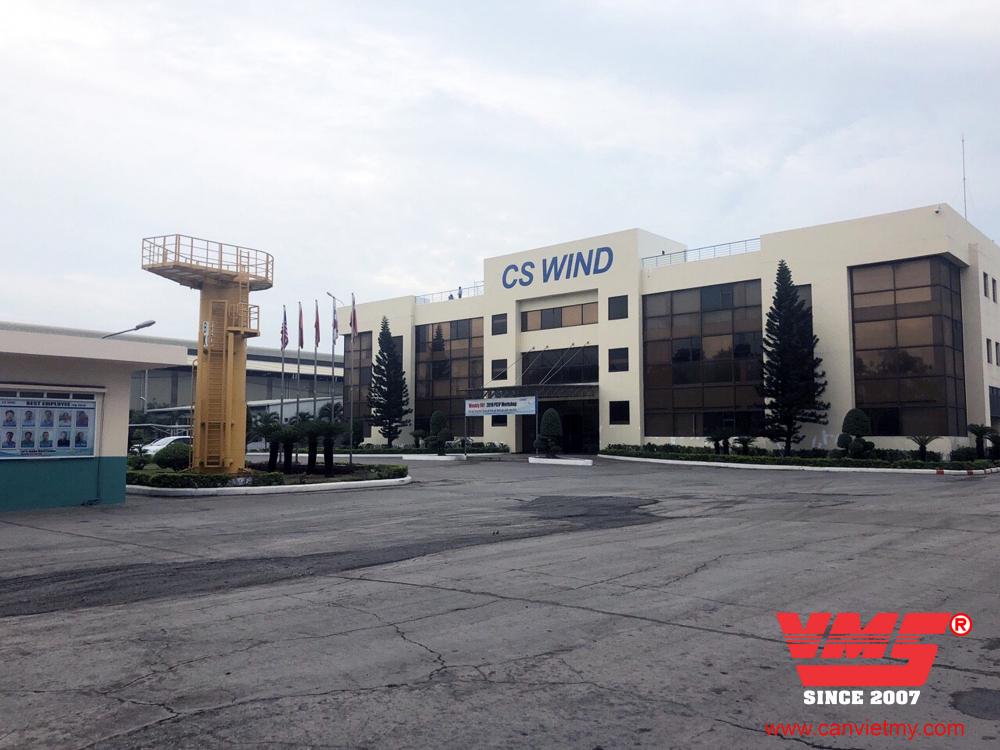 Trạm cân 80 Tấn 3x18m lắp tại KCN PHÚ MỸ I