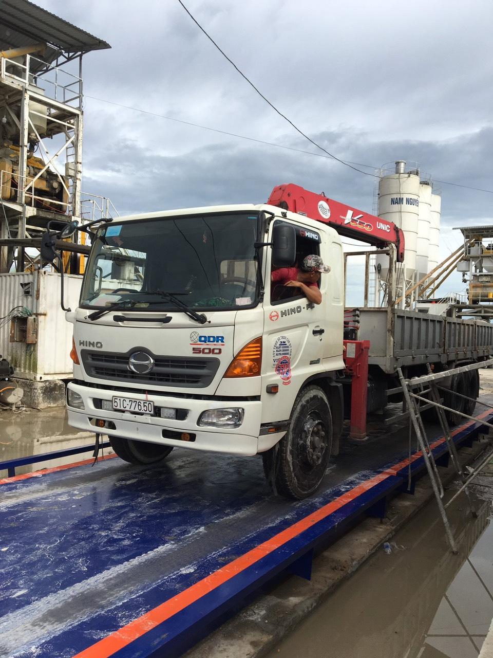 Cân xe tải RINSTRUM - GERMANY 80 tấn