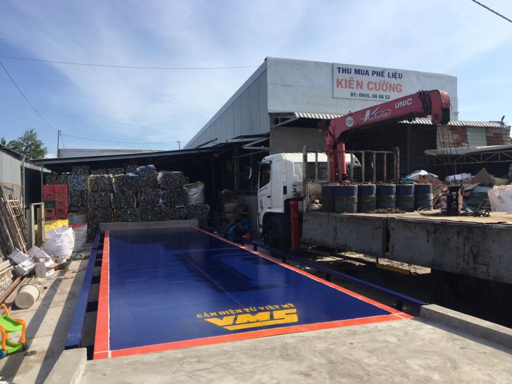 Trạm cân ô tô 40 tấn AMCELLS - USA