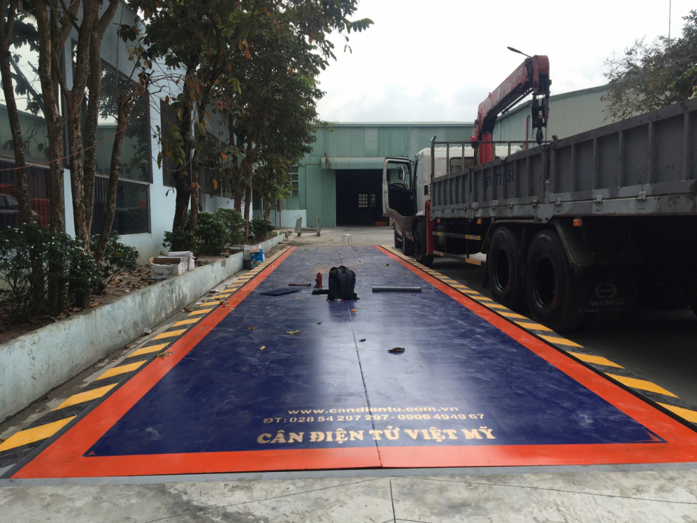 Trạm cân xe tải 100 tấn AMCELLS - USA