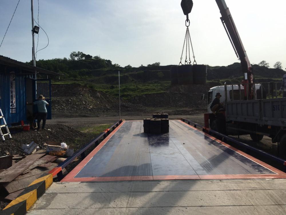 Trạm cân xe tải điện tử 40 tấn MkCells -USA