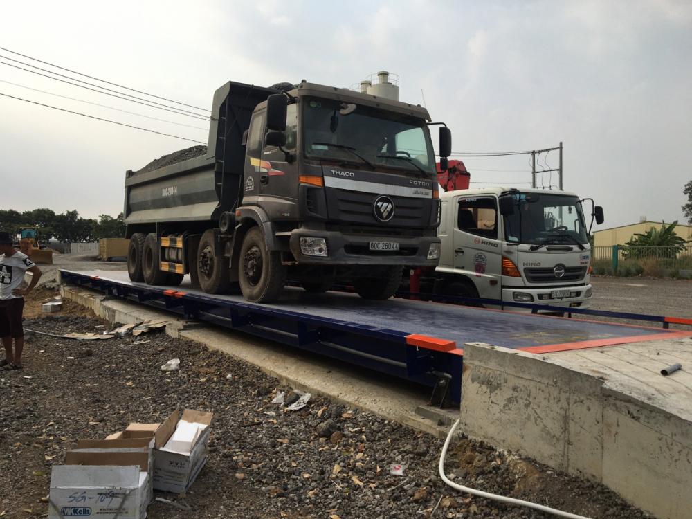 Kiểm định cân xe tải điện tử