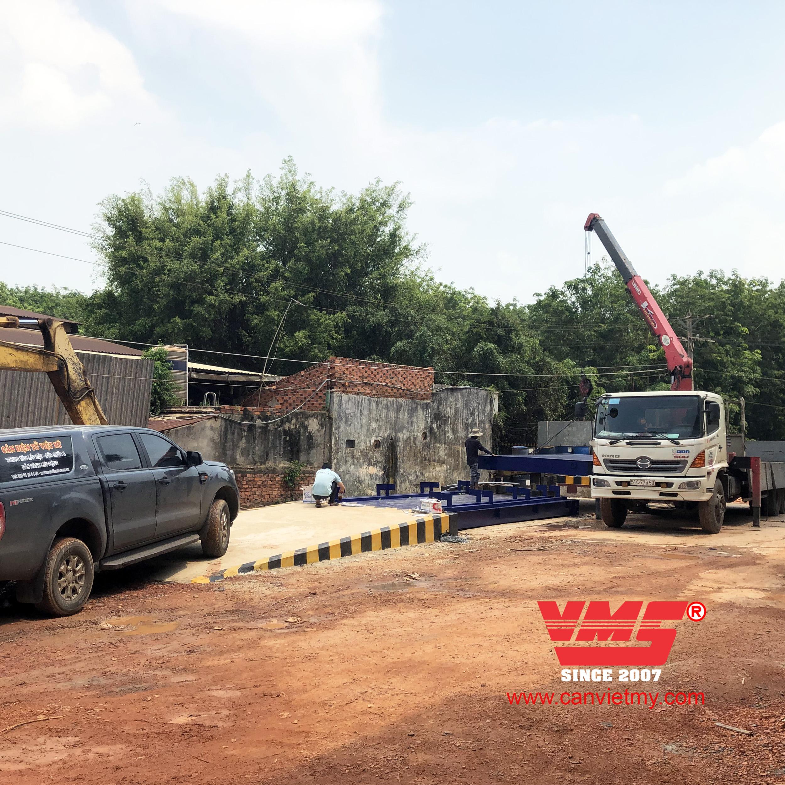 Cân xe tải 80 tấn 3x12m