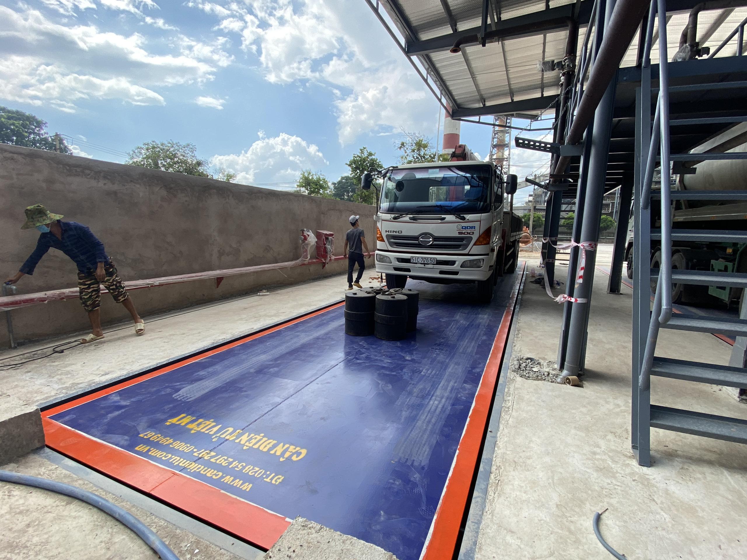 Tư vấn lắp đặt trạm cân xe tải, cân ô tô điện tử trên Toàn Quốc