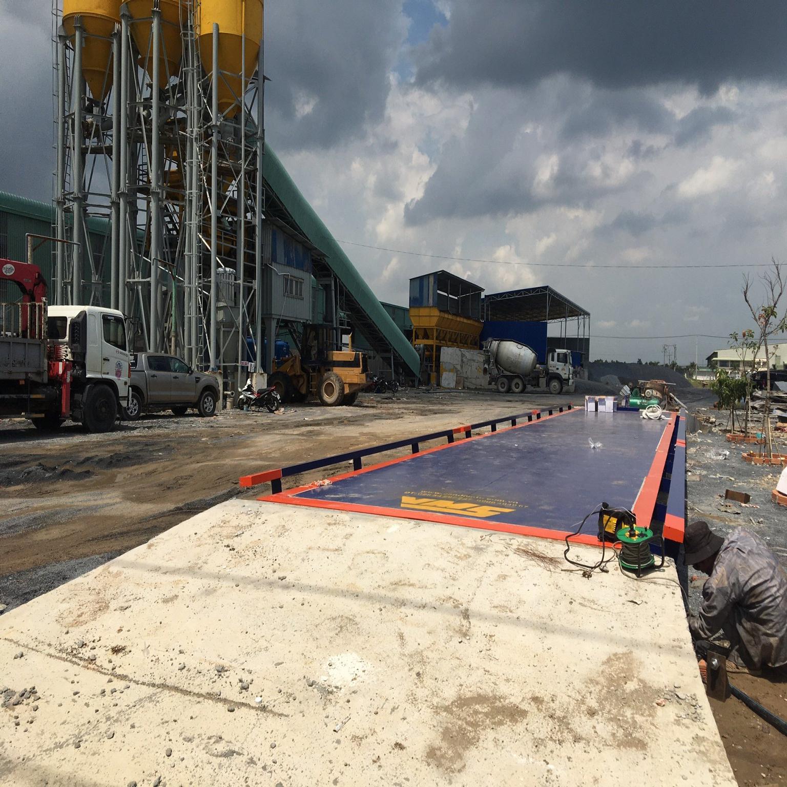 Trạm cân ô tô 100 tấn cao cấp 3x18m MKCELL