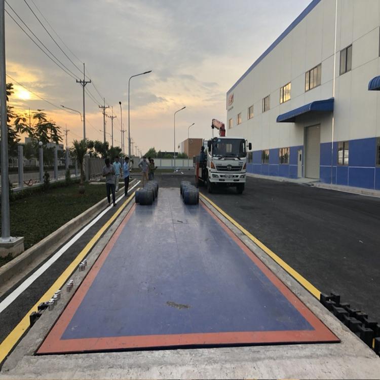 Trạm cân ô tô điện tử 60 tấn AMCELLS - USA