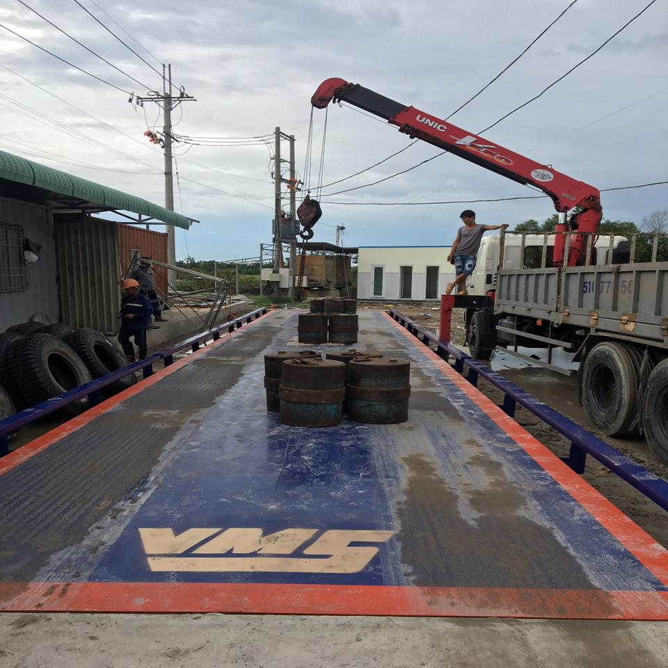 Trạm cân xe tải 30 tấn rinstrum - Germany