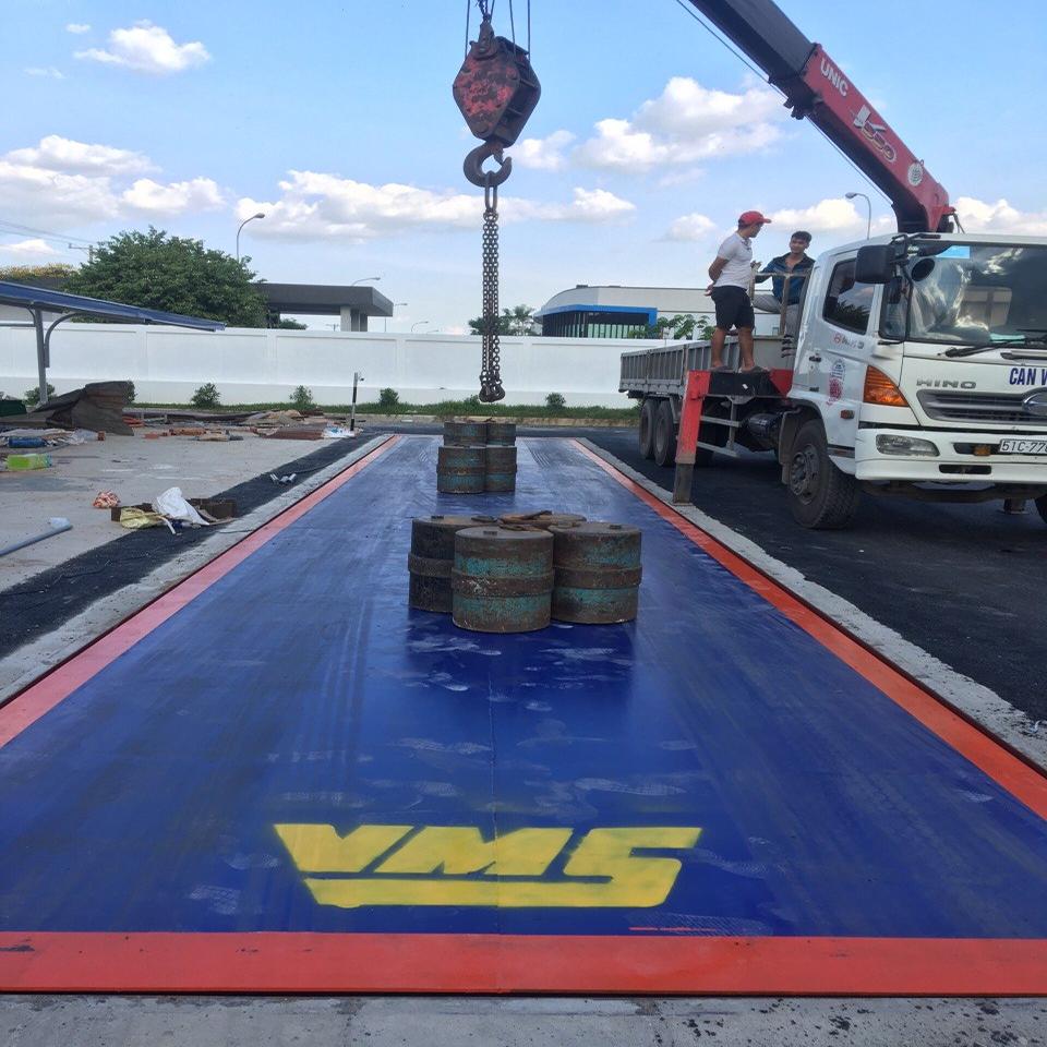 Trạm cân xe tải 50 tấn MKCell-USA