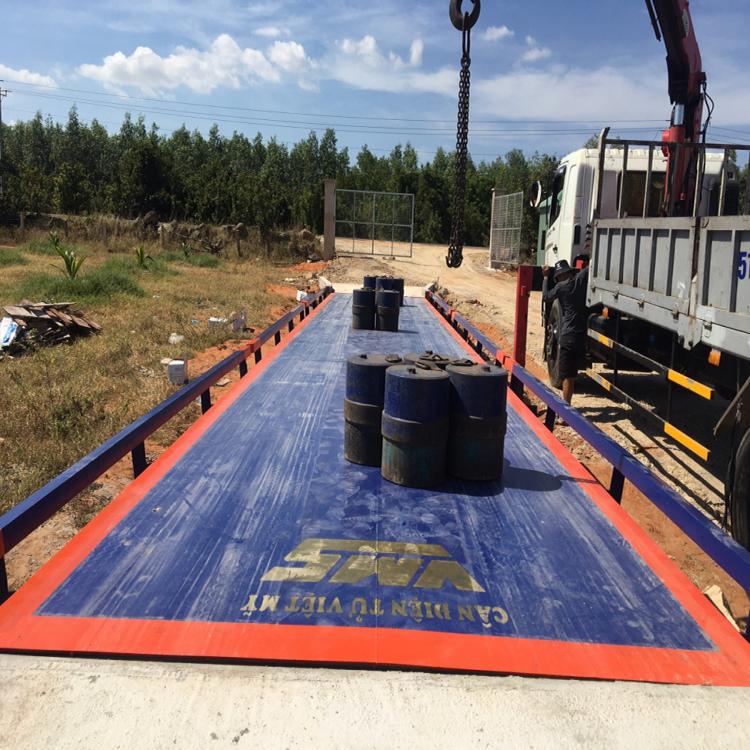 Trạm cân xe tải 60 tấn RINSTRUM - GERMANY